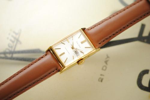 【ビンテージ時計】1965年4月製造 セイコーコーラス 手巻き式腕時計 日本製 デッドストック