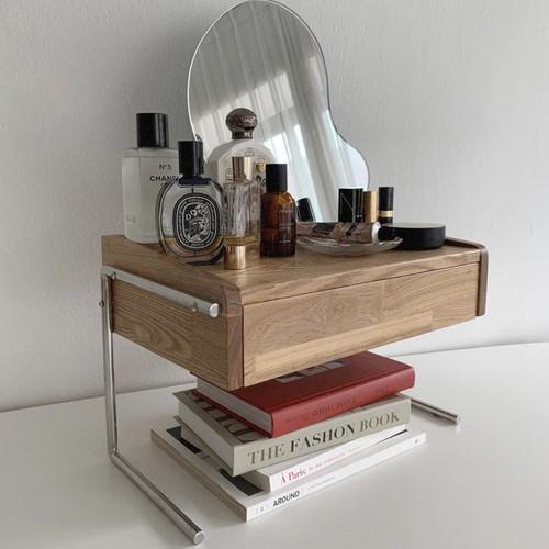 mini dressing table / ミニドレッサーテーブル シェルフ 棚 韓国 北欧