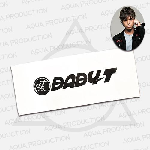 DJ BABY-T ロゴフェイスタオル