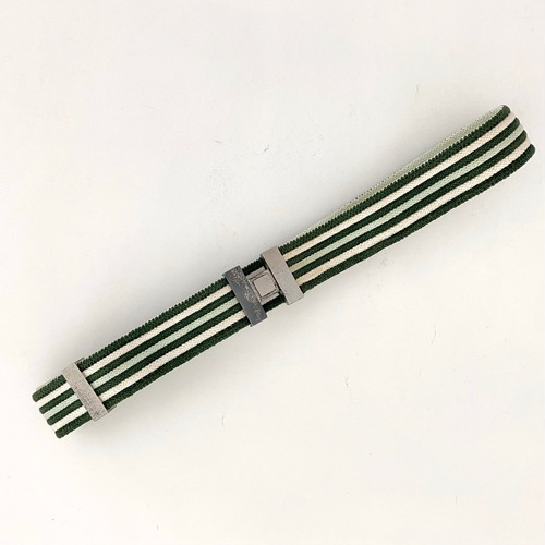 HERMES stripes belt