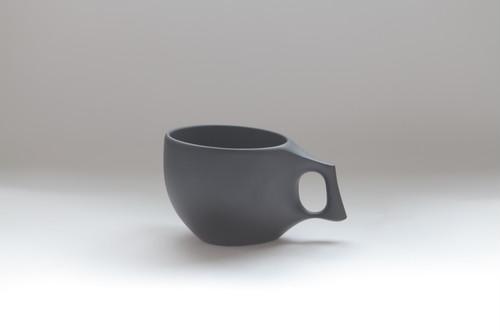 17 mogu cup M  BLACK(山桜材)