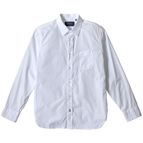 160/2 BROAD REGULAR COLLAR SHIRTS WHITE
