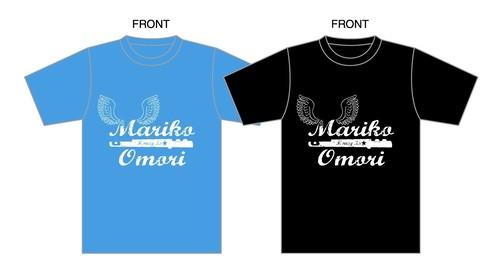 Tシャツ(ブルー/ブラック/グレー)