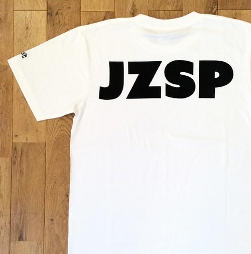 """【残りわずか】JS """"JZSP"""" Tシャツ/ホワイト"""
