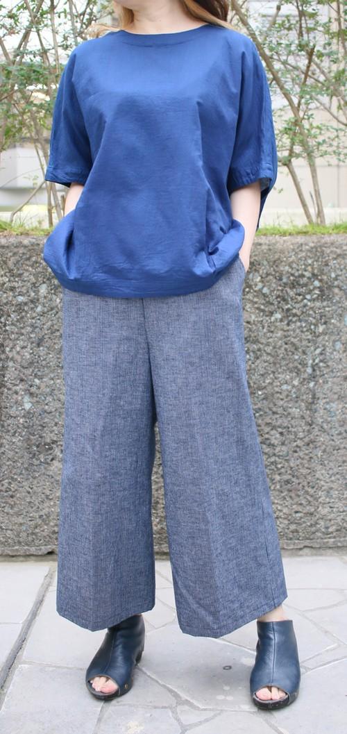【ワーキングオフィス】プルオーバー(藍)ww1605