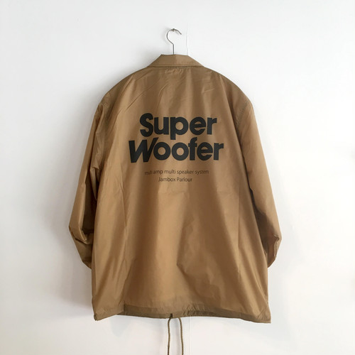 "Coach's Jacket ""SUPER WOOFER"" SANDBAIGE"