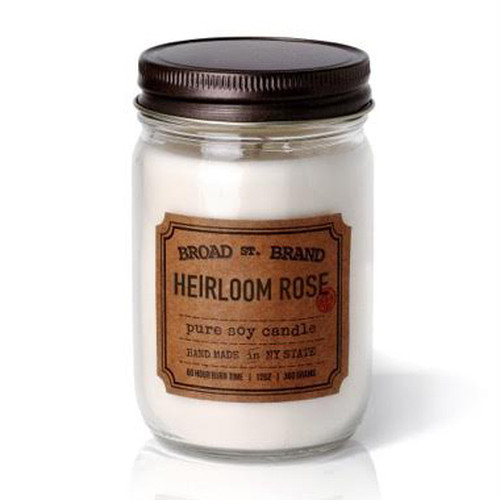 HEIRLOOM ROSE CANDLE - BROAD STREET BRAND