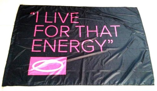 I LIVE FOR THAT ENERGY - ASOT 800 フラッグ