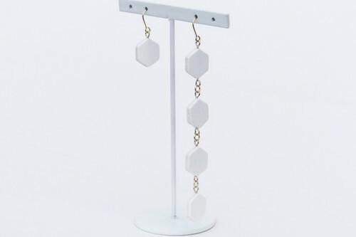 ilocami  SP-1  PIERCE/EARRING【WHITE】