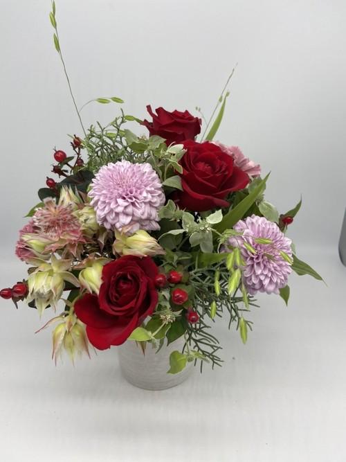arrangementsアレンジメント Sサイズ (レッド・ピンク系)