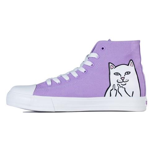 RIPNDIP - Lord Nermal High-Top Shoes (Lavender)