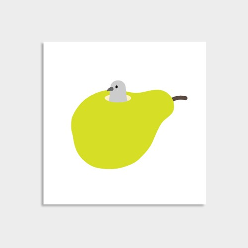 Pigeon in Pear