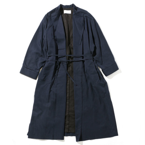 SMOCK DRESS COAT [ NAVY ]