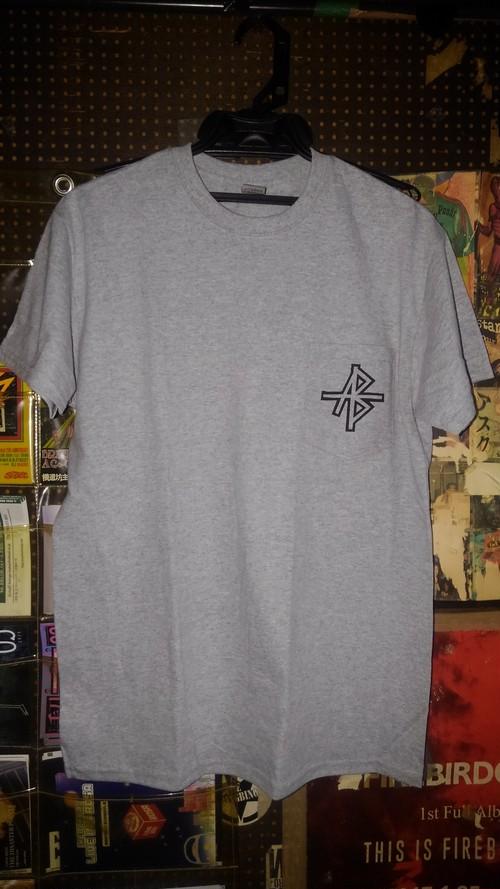 ANDBELIEVE 胸ポケTシャツ (Color: Grey / Size: M, L, XL)