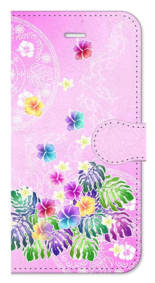 【iPhone6/6s】 Sweet Pink Paradise スィート・ピンク・パラダイス 手帳型スマホケース