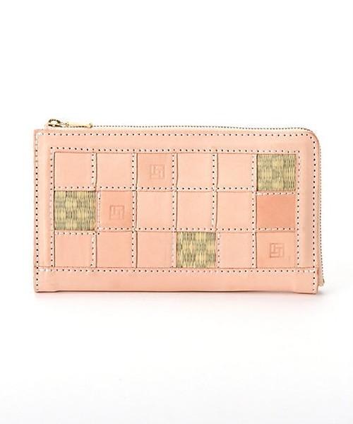 TATAMI- long wallet  Patchwork