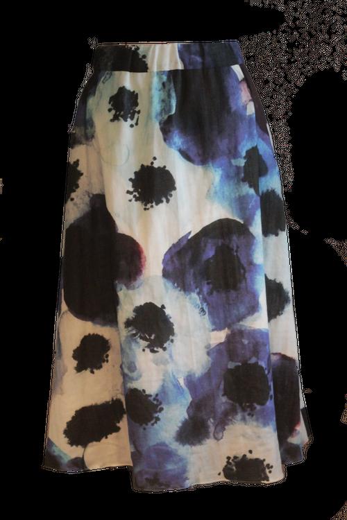 Blue Anemone  ブルーアネモネ  Skirt