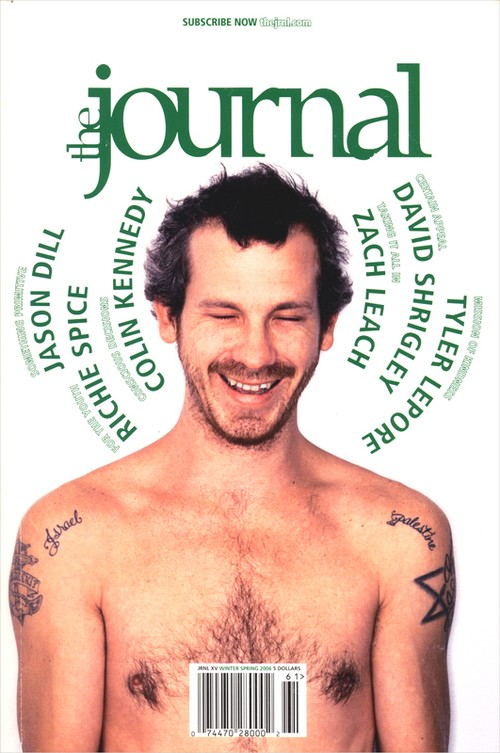 the journal #15 JASON DILL