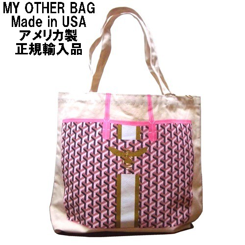 My Other Bag マイアザーバッグ アメリカ製 トートバッグ SOPHIA BEE キャンバス エコバッグ 折り畳み 正規品 蜂 マチあり