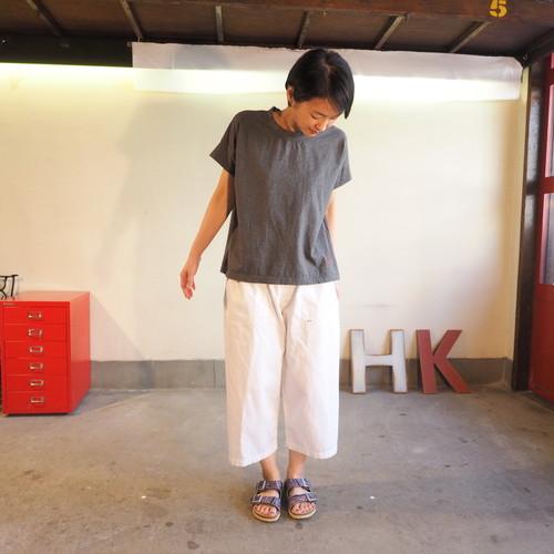 白いピッケ 4ポケット・イージーパンツ 12P12 サイズ2