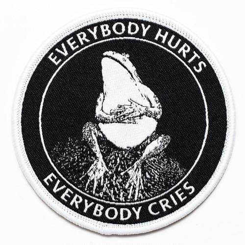 """Pretty Bad Co""""Sad Frog Patch. Everybody Hurts Everybody Cries."""""""