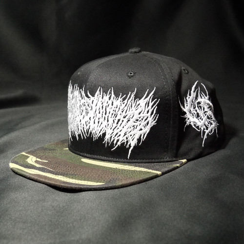 Gluttonous Slaughter Snapback Camo × White