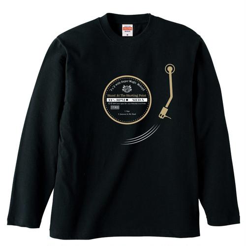"◼︎フック with Super Magic MonkeyZ ""Vinyl Long Sleeve T-Shirt"""