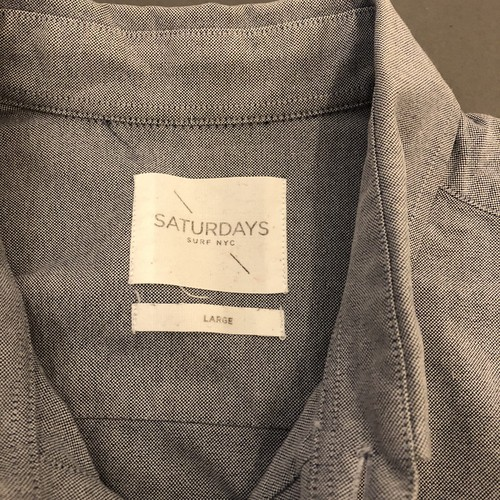 Saturdays NYCのシャツ