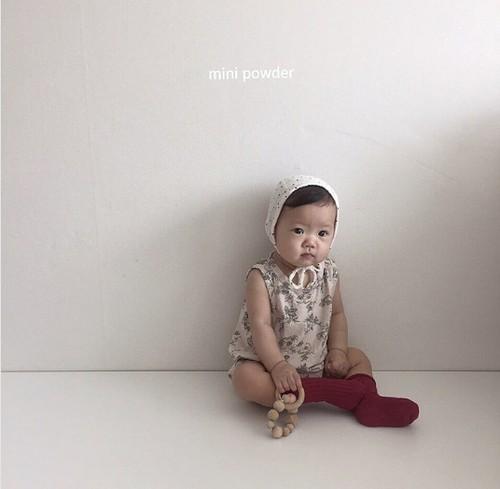 《即納》ベビー  花柄ロンパース