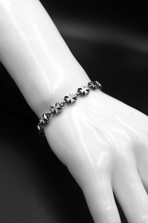 Item No.0133: Ironcross bracelet