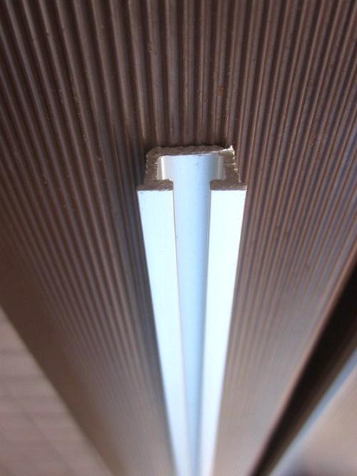 吊り扉用プラスチック部品(羽無し)専用シングルレール