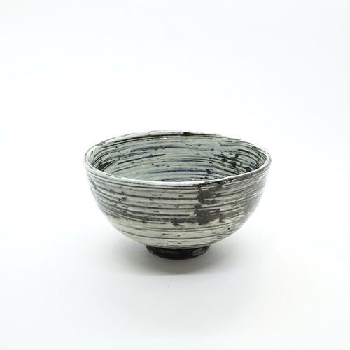 刷毛目茶碗【藤村拓太】