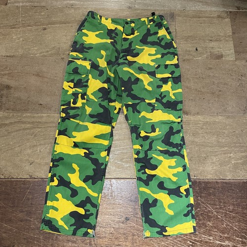 camouflage military pants