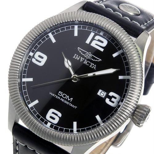 インヴィクタ INVICTA クオーツ メンズ 腕時計 1460 ブラック ブラック