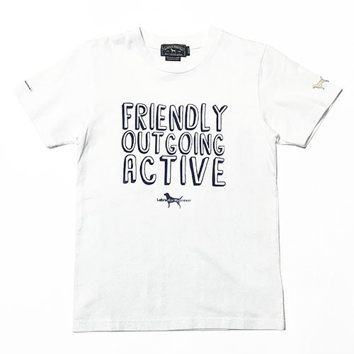 FRIENDLY ラブラドール T【Ladies' & Kid's】