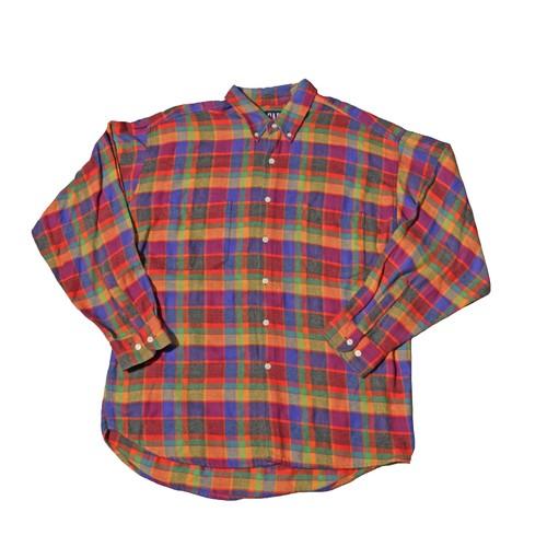 GAP ColorBlockCheckShirts