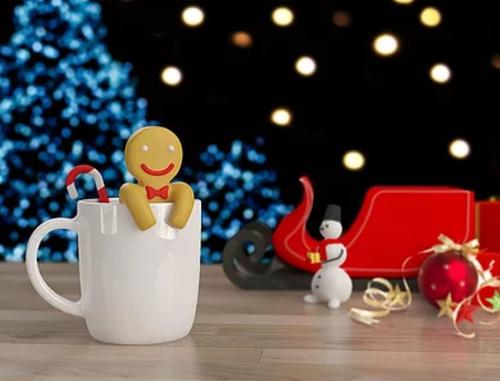 ジンジャーブレッドマンの茶こし~Gingerbread man Tea Infuser