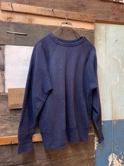 50-60's unknown binder neck sweat shirt