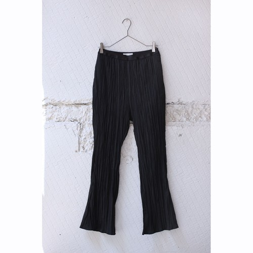 【DOMENICO+SAVIO】ROUGH PLEATED FLARE PANTS