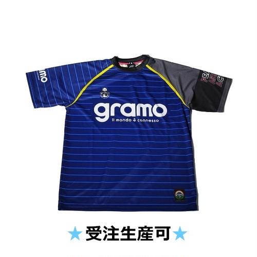 プラクティスシャツ「sharp」(ネイビー/P-018)☆受注生産可☆
