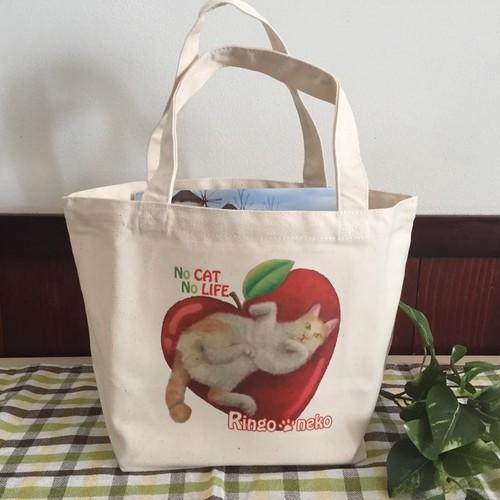 ネコダスケバッグ りんご猫B