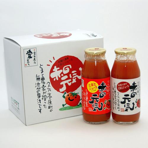 トマトジュース 食塩無添加濃厚 赤の元気 6本