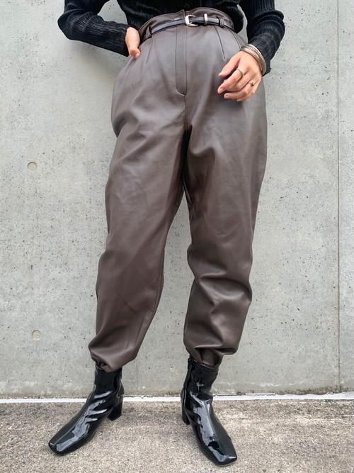 (TOYO) design brown pants