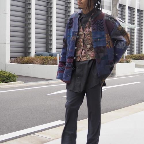 Indian patch work design jacket