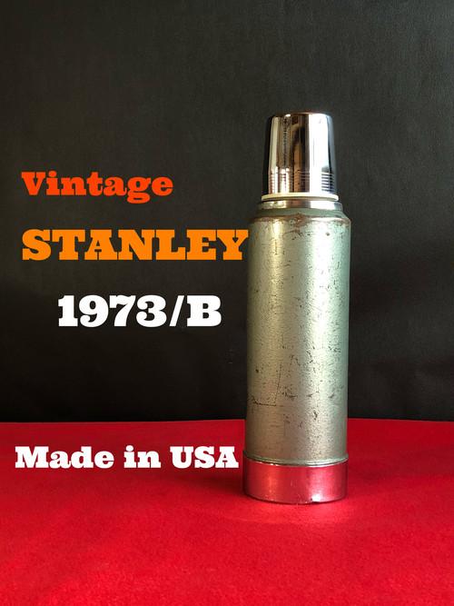 【1973/B】  STANLEY スタンレー 真空ボトル 1リットル ハンマートーングリーン アメリカ製