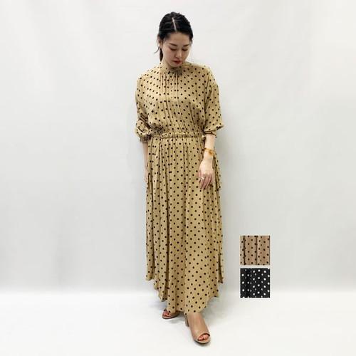SACRA(サクラ) POLKA DOT ONE PIECE 2020秋物新作[送料無料]