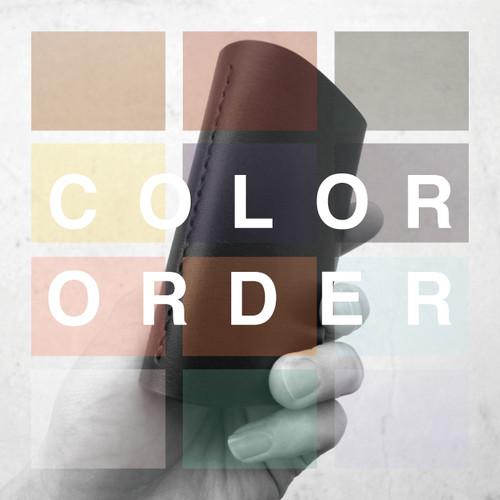 business card case (2 pocket) 【color order】