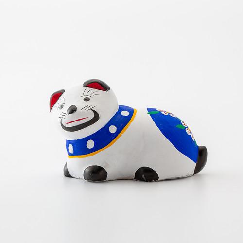 平賀工芸社 花巻人形「戌」