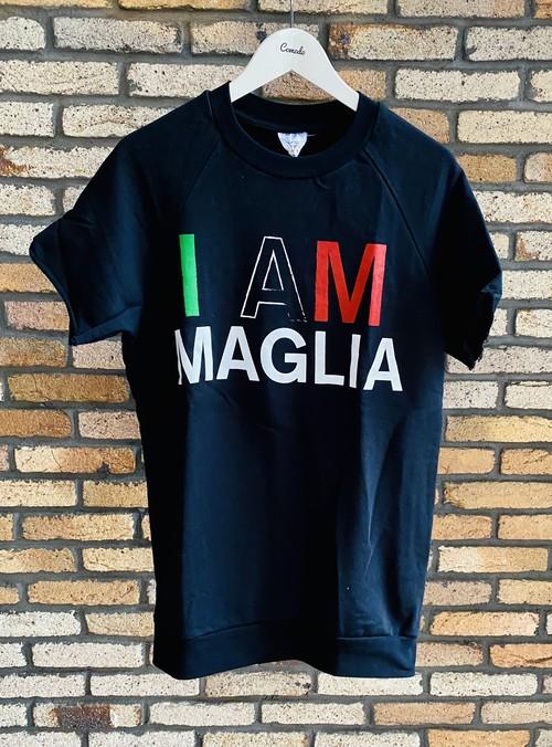 MAGLIA(マリア) 半袖スウェット I AM ブラック