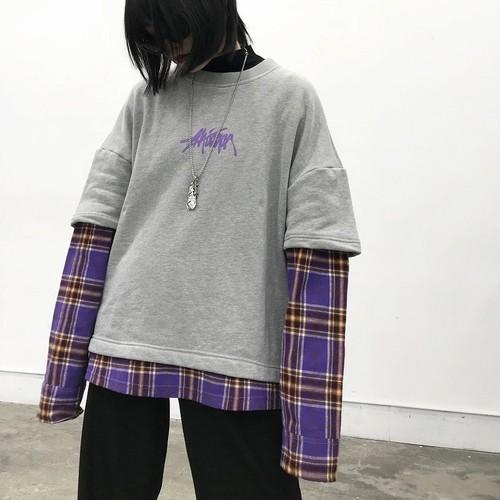 ストリートレイヤードロゴTシャツ RD2307